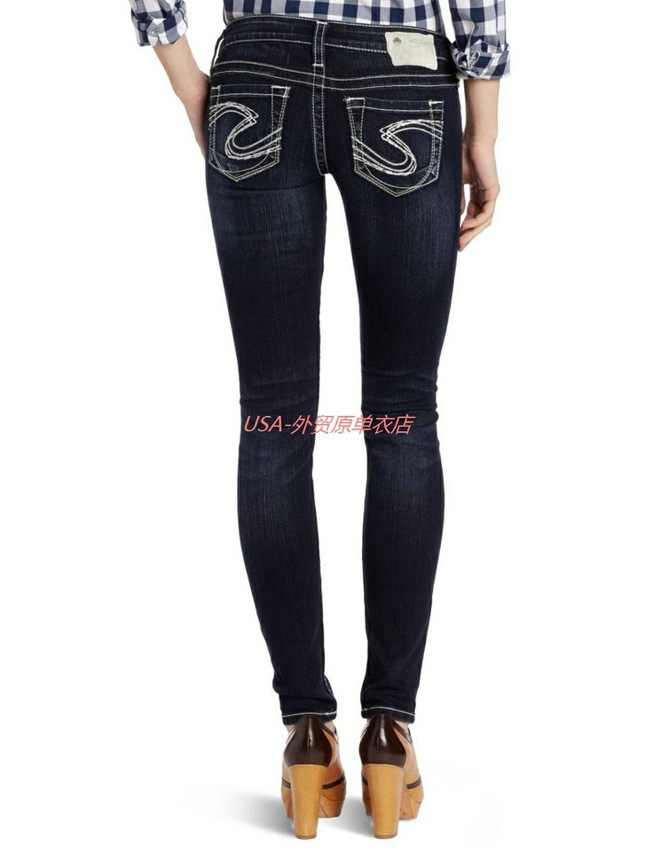10 Best images about Silver Jeans on Pinterest | 100 cotton jeans ...