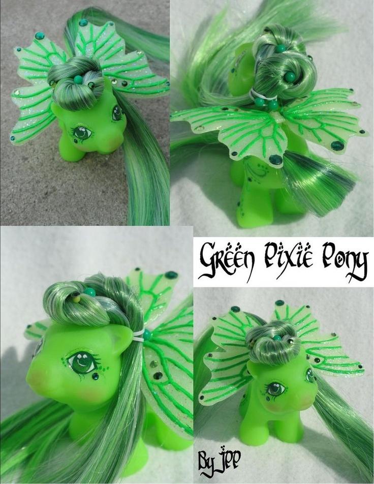 Green Pixie Pony View 3 by ~JoshsPonyPrincess on deviantART