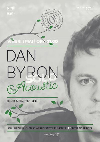 Dan Byron - Live Acoustic Solo @ Bistro MaCocote Concerte