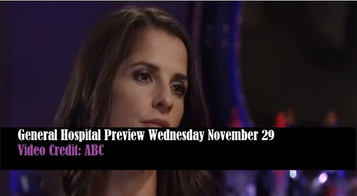 WATCH: General Hospital (GH) Preview Wednesday November 29 Sam Morgan Opens Up