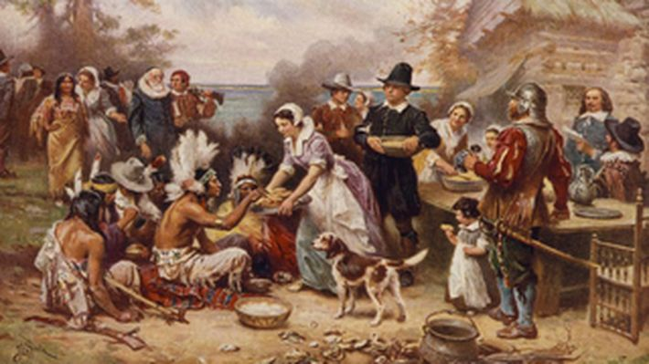 <p>Throughout history, people have given thanks – sometimes in joyful celebration, often in solemn, even prayerful, ceremony. The United States, over hundreds of years, has come to observe a national holiday for giving thanks: Thanksgiving. This set of primary resources containing images and documents provides a window into this time period, as well as a Teacher's Guide with historical context and teaching suggestions.</p>