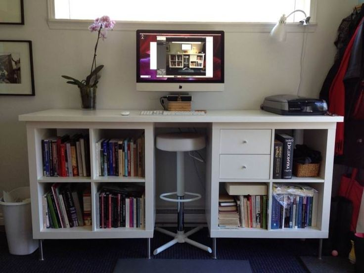Linnmon Desktop EXPEDIT Standing Desk