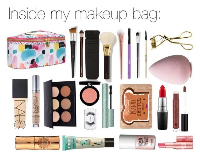 """""""Inside my makeup bag"""" by roroc ❤ liked on Polyvore featuring beauty, Tom Ford, NARS Cosmetics, N°21, Bobbi Brown Cosmetics, Hourglass Cosmetics, MAC Cosmetics, Urban Decay, Anastasia Beverly Hills and Armani Beauty"""