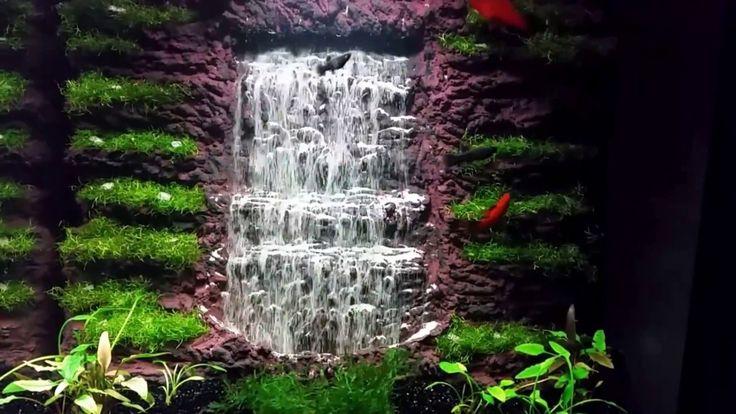 Aquarium Sand Waterfall 55