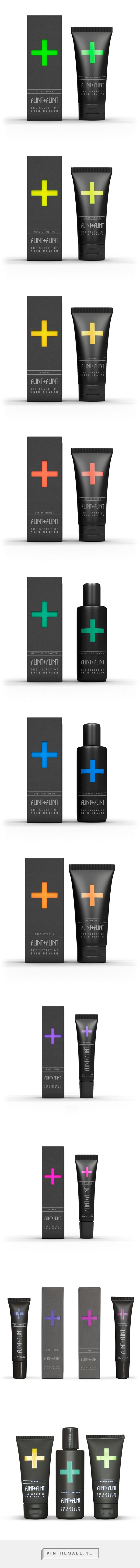 Professional Skincare product packaging for Flint+Flint curated by Packaging Diva PD. What's your color?