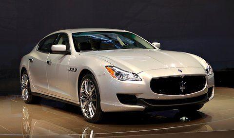 2014 Maserati Quattroporte introduced at #NAIAS #DetroitAutoShow
