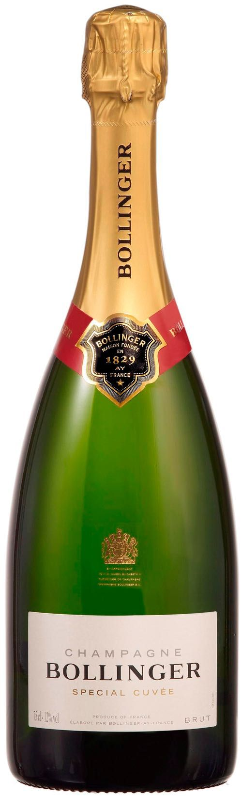 Bollinger Special Cuvee Brut Champagne - Free Stopper