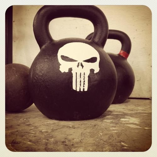 kettlebell | punisher - fitness motivation | Crossfit