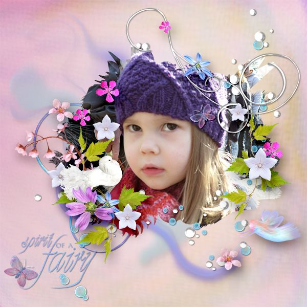 *Dream About Fairies* by MiSi Scrap  http://www.digiscrapbooking.ch/shop/index.php…