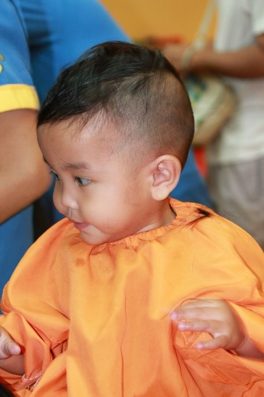 Buzz Style Haircut For Kell Baby Hairstyles Baby Haircut