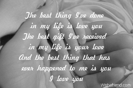 the best thing ive done in my life is love youthe best