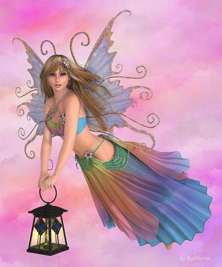 картинки ангел и феи русалки