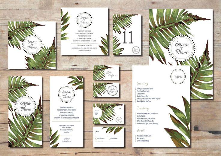Palm Leaves Stationary