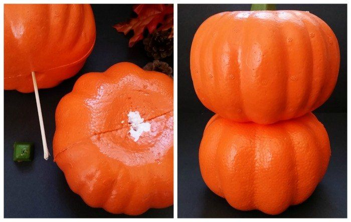 Everyone's stacking up pumpkins to copy this adorably surprising idea