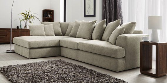 Buy Stratus II Scatter Back Medium Sofa (3 Seats) Natural Blend Dark Natural from the Next UK online shop