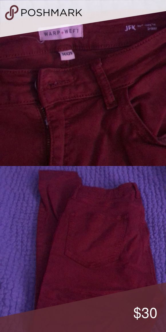 Warp and Weft Jeans Excellent condition! Beautiful…
