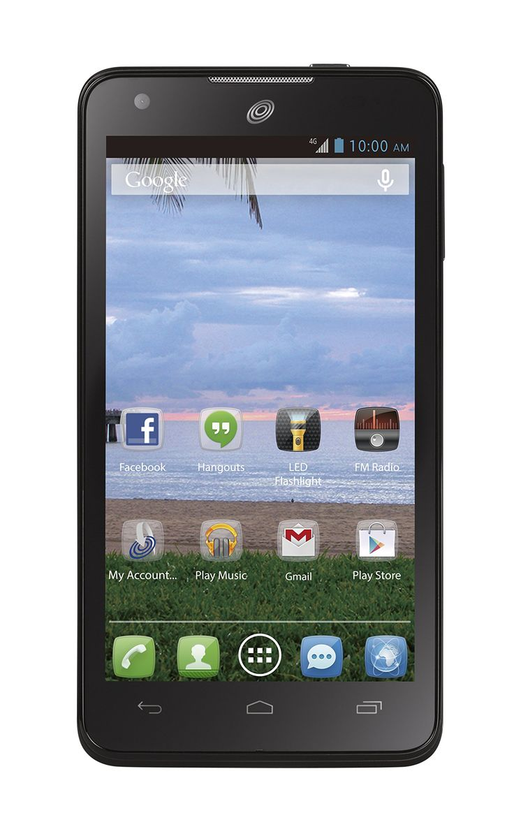 Prepaid telecom operator virgin mobile usa will soon start selling - Tracfone Alcatel Onetouch Sonic Lte 4 6 Inch Android Prepaid Phone With Triple Minutes