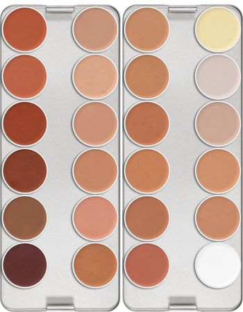 Ultra Foundation Palette 24 Farben | Kryolan - Professional Make-up