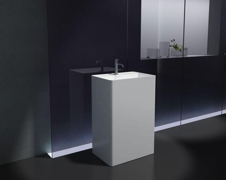 Les 25 meilleures id es de la cat gorie colonne salle de for Meuble lavabo sur colonne