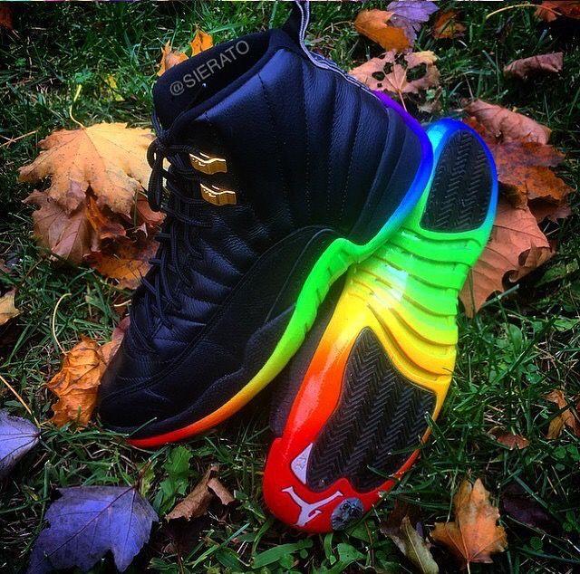 """Air Jordan 12 """"Black Rainbow"""""""
