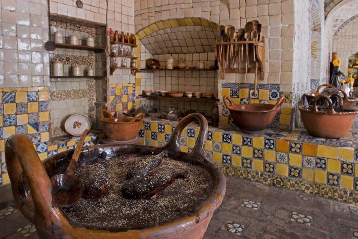 Museo ex convento de santa rosa puebla cocinas r sticas - Cocinas de pueblo ...