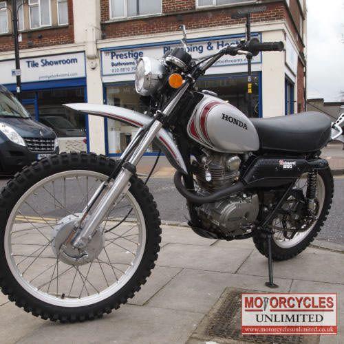 1972 Honda XL250 Motosport for sale