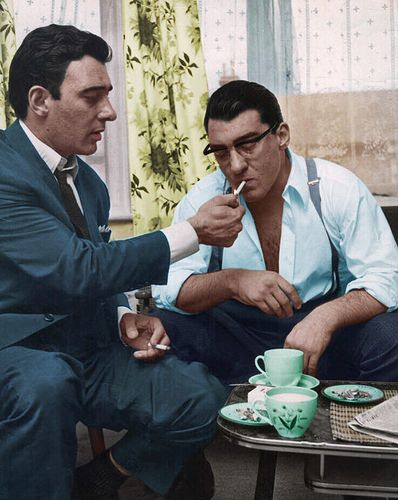 Ron and reg kray smoking | Paul Daley | Flickr
