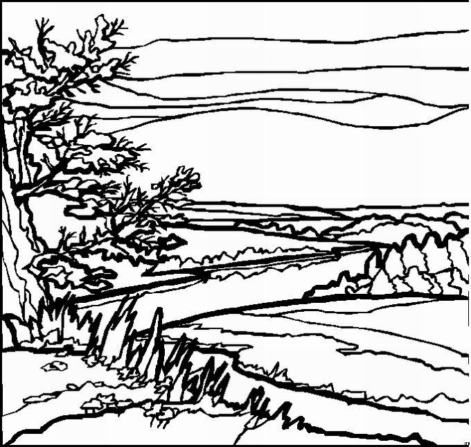 landschaften malvorlagen  malvorlagen vorlagen landschaft