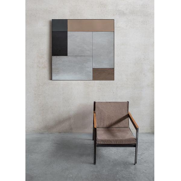 Notre Monde | M Wall Mirror - NEW - 20667 - Mirror - metal frame