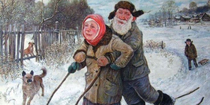 Счастливые старики на картинах знаменитого художника (Фото ...