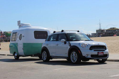 The Happier Camper • HC1 and the Mini Cooper
