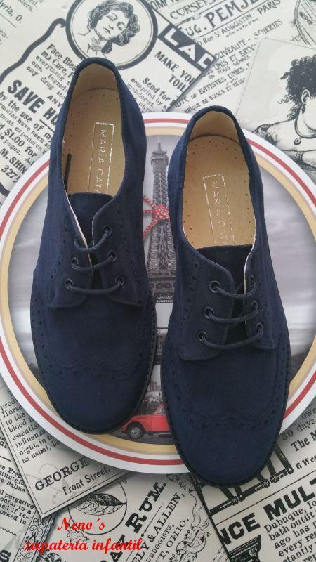 Zapatos María Catalán niño