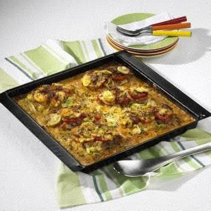 Das Rezept für Saftige Schnitzel-Pizza und weitere kostenlose Rezepte auf LECKER.de