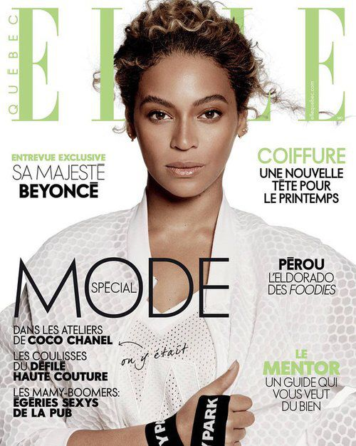 Beyonc 233 Elle Magazine May 2016 Quebec Magazines Covers