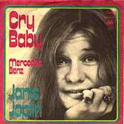 Janis Joplin - Cry Baby / Mercedes Benz - album cover