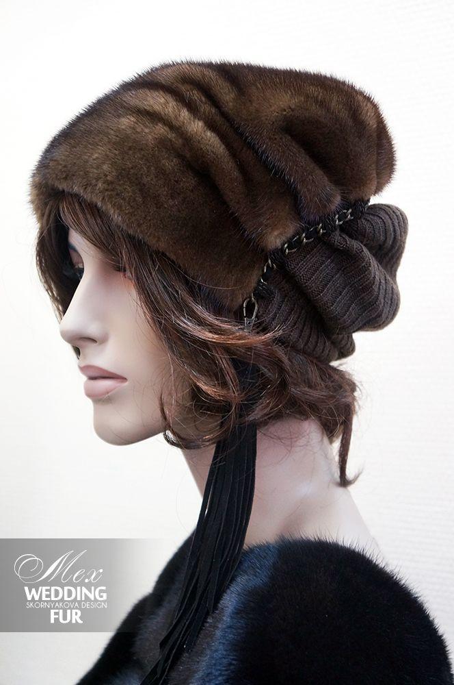 Норковая шапка женская распродажа