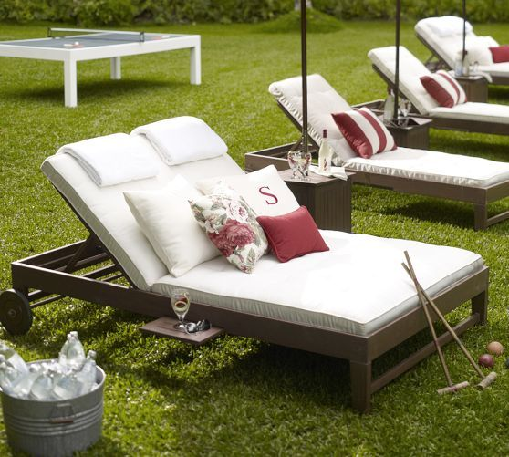 Pottery Barn Outdoor Furniture Vacation House Pinterest