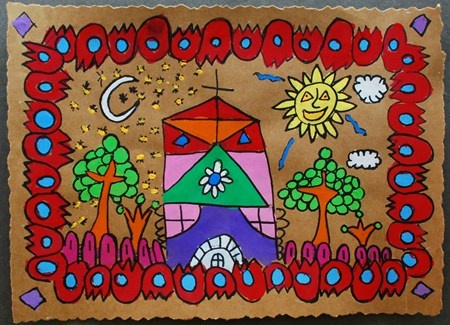 """From exhibit """"Mexican Bark Painting""""  by Joseph4701"""
