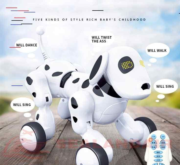 Intelligent Rc Robot Dog Toy The Express Cart Interactive