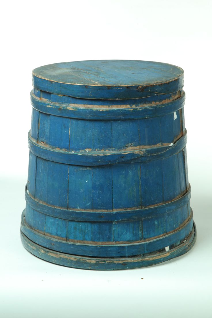 Bucket in the best original blue