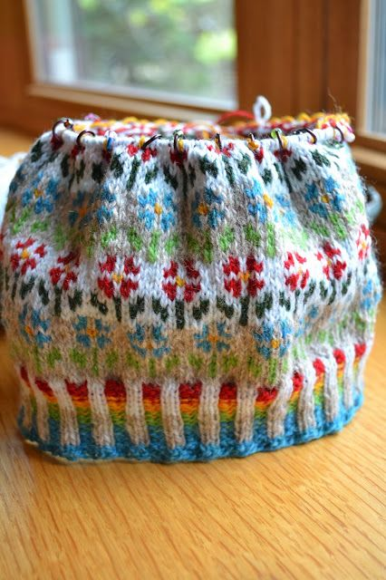 71 best charming colorwork- stranded and fair isle patterns images ...