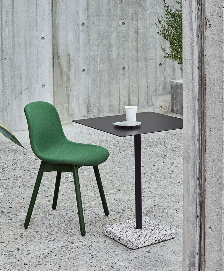 Terazzo table and Neu chair.