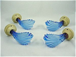 Cobalt Blue Curtain Tiebacks