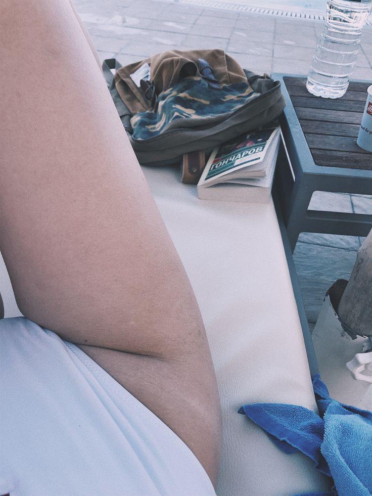 #sun #blue #whiteskin #swimsuit