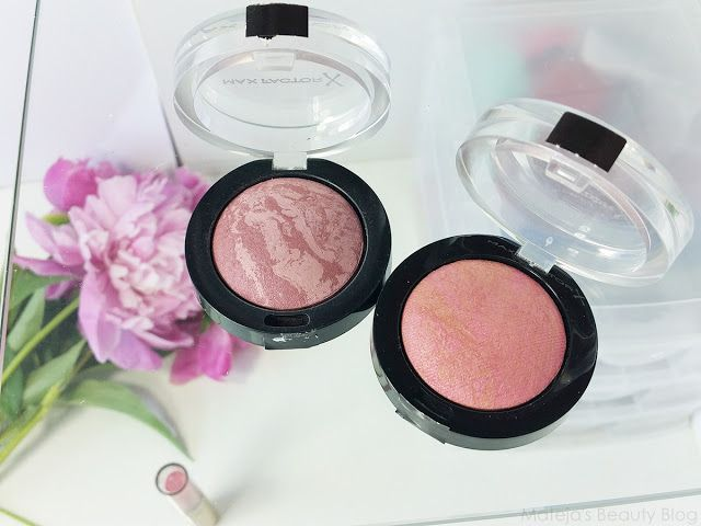 Mateja's Beauty Blog: Max Factor Creme Puff Blush 20 Lavish Mauve and 05 Lovely Pink