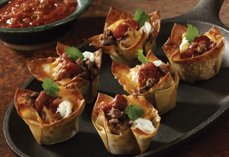 These little taco-flavored treats in wonton crusts make mouthwatering, family-favorite appetizers.