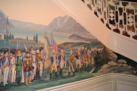 259 best images about zuber on pinterest for Mural room white house