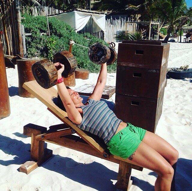 training feet on the sands - Review of Tulum Jungle Gym, Tulum, Mexico - TripAdvisor