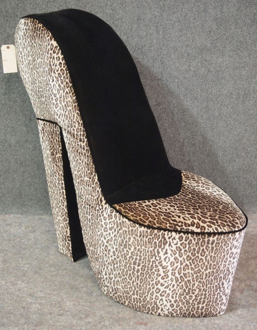 24 Best Leopard High Heel Chair Images On Pinterest High