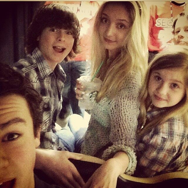 hana hayes and chandler riggs relationship quotes
